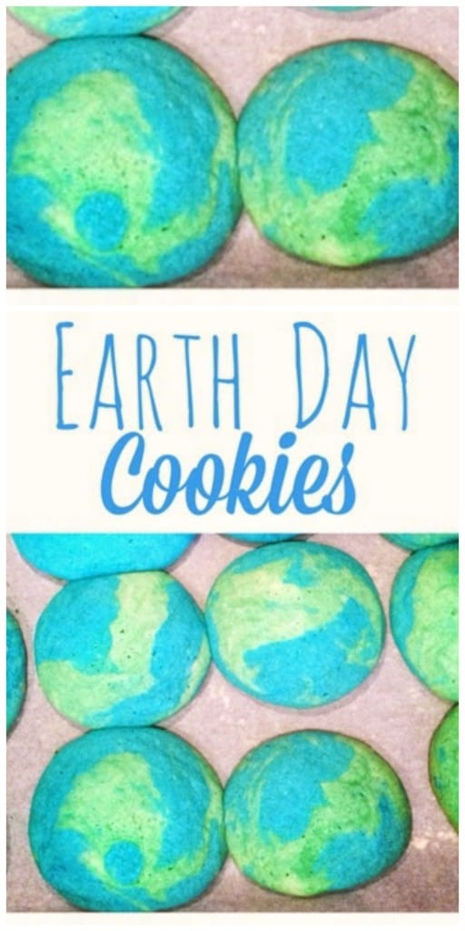 These homemade Earth Day cookies are SO easy to make! Check out just how simple they are!