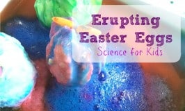 Erupting Easter Eggs: Simple Science for Kids