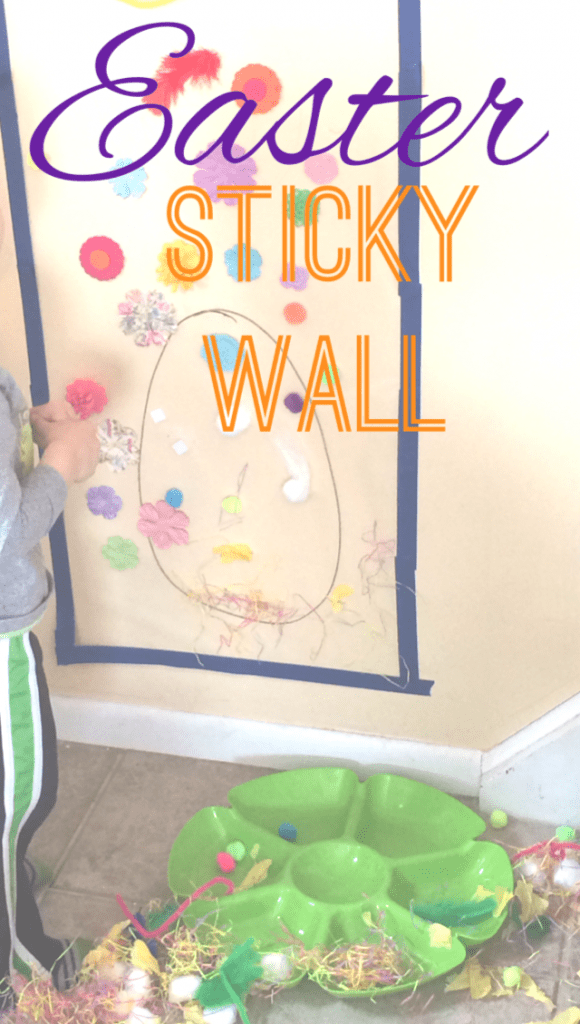 Easter Sticky Wall
