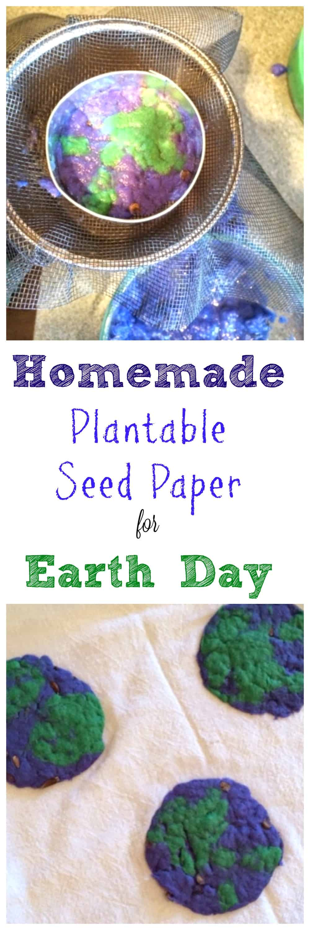 Plantable Seed Paper