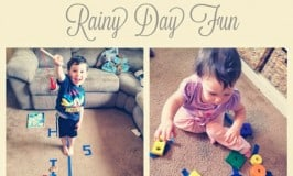 8 Indoor Painter's Tape Activities: Rainy Day Fun