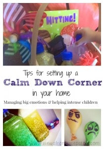 Setting Up A Calm Down Area For Toddlers And Preschoolers