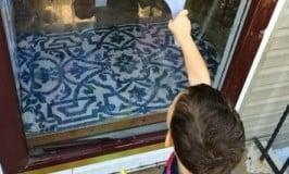 Homemade Window Paint: Kids Art Outdoors