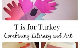 'T' is for Turkey Thanksgiving Craft