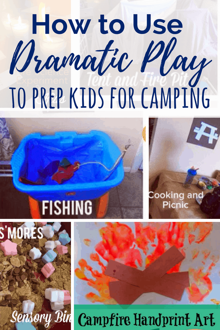 These indoor camping activities for kids are excellent for pretend play or for prepping kids for outdoor camping through play. Science, sensory & art. #campingwithkids #indoorcamping #kidsactivities #summeractiviitesforkids
