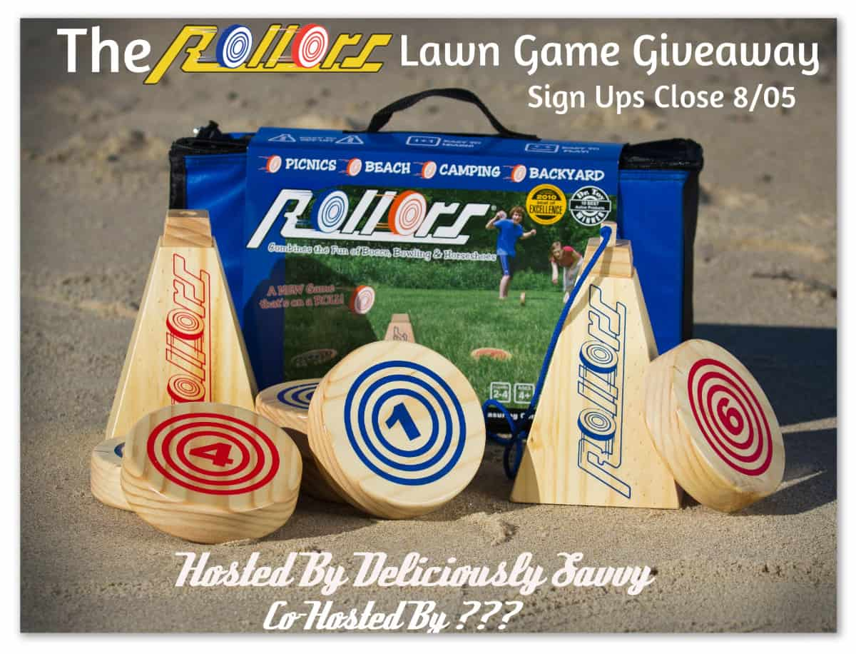 Blogger Opp: The Rollors Lawn Game Giveaway