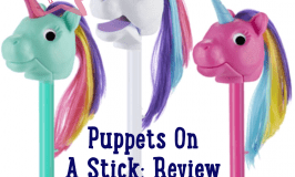 Play Therapy at Home with Puppets on a Stick Rainbow Prancers: Review