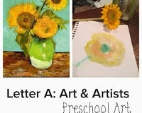 S is for Sunflower: Fine Motor Practice
