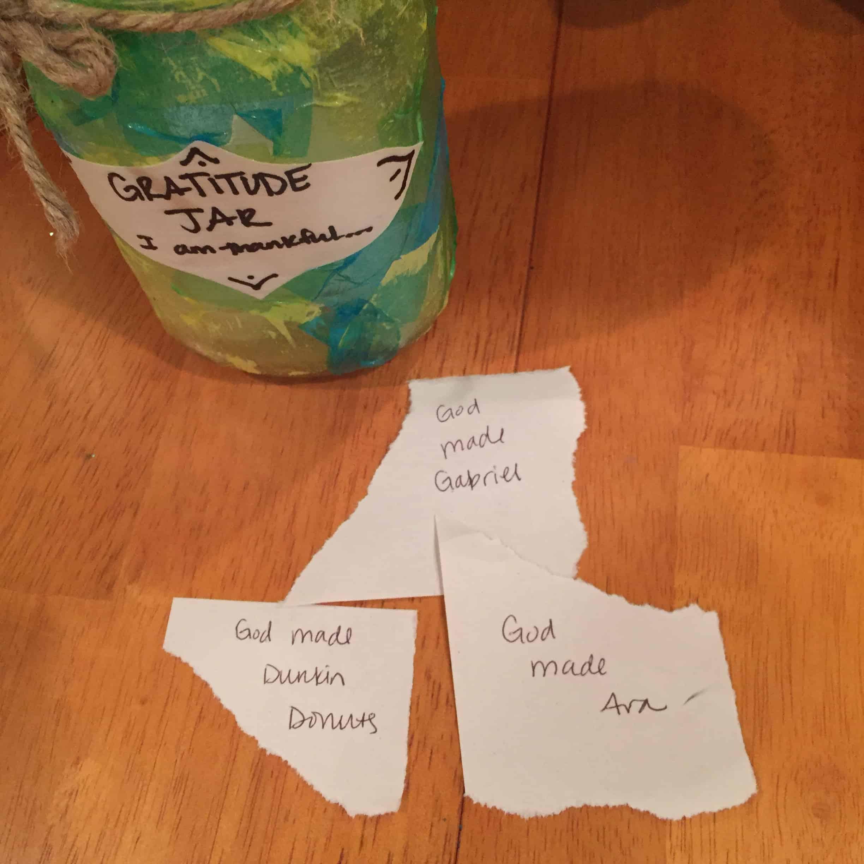Diy Gratitude Jar Upcycled Kid Made Amp Simple Views