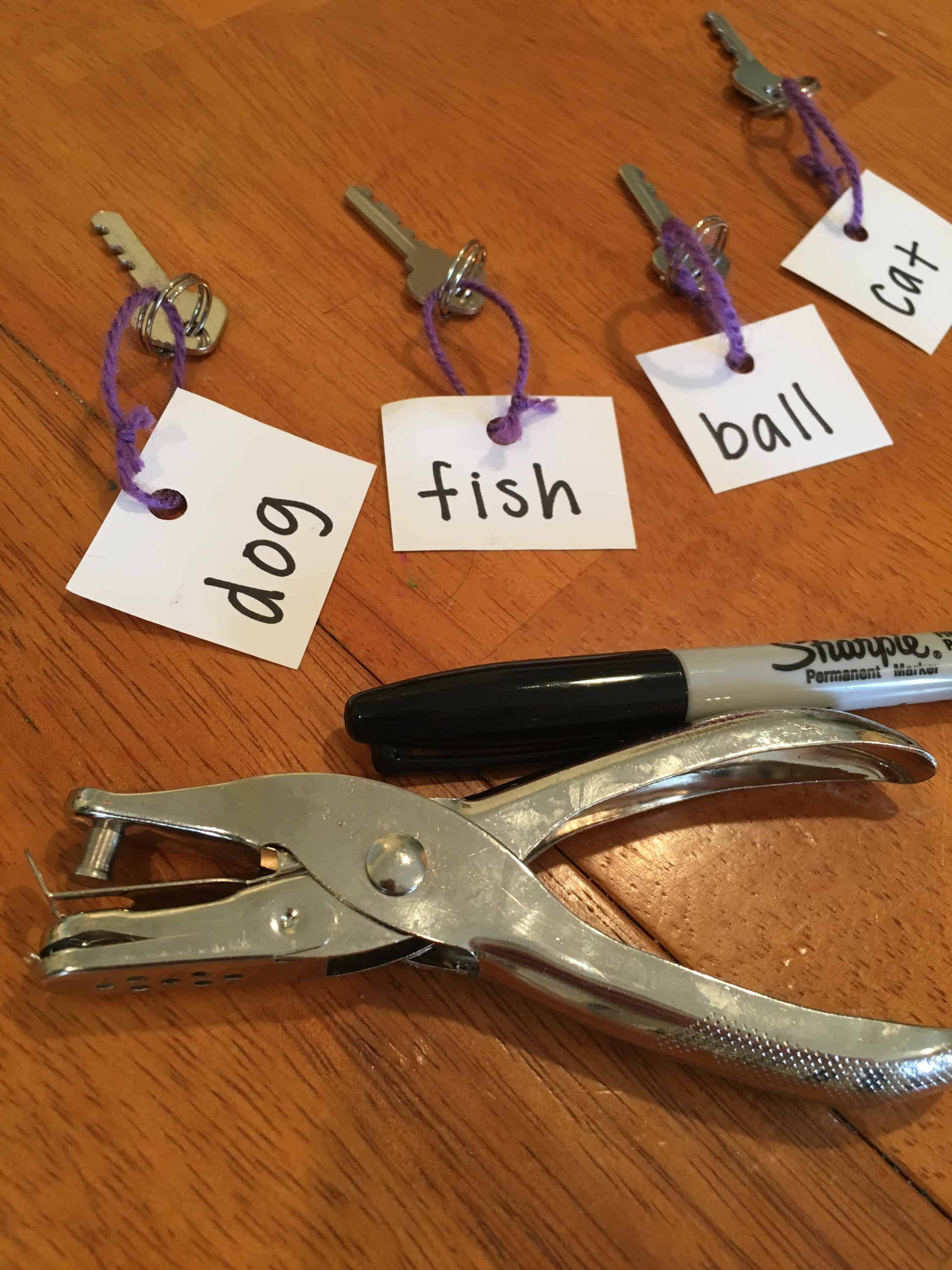 This simple sight word game uses padlocks and keys to make learning to read fun!