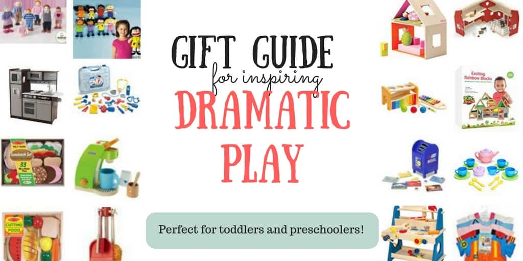 Gift Guide for Toddlers and Preschoolers: Dramatic Play Toys
