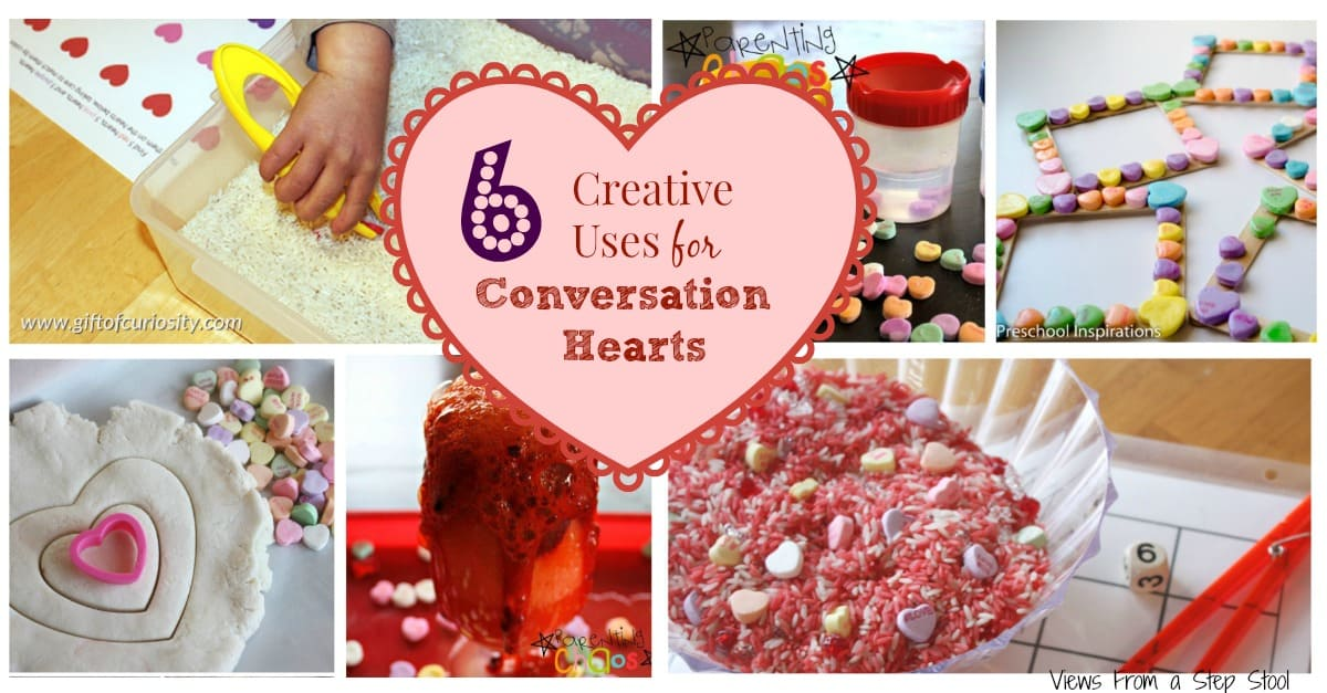 6 Creative Uses for Conversation Hearts