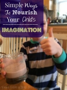 Check out these fun activities that promote imagination in kids! Indoor camping, sensory play..