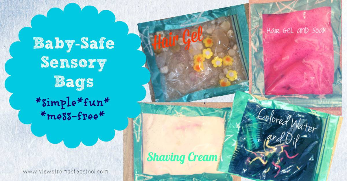 Baby-Friendly Sensory Bags: Safe & Simple + Printable Tracing Templates