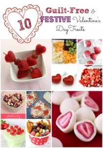 Make any of these adorable, guilt-free treats to make any Valentine's Day fun and healthy!