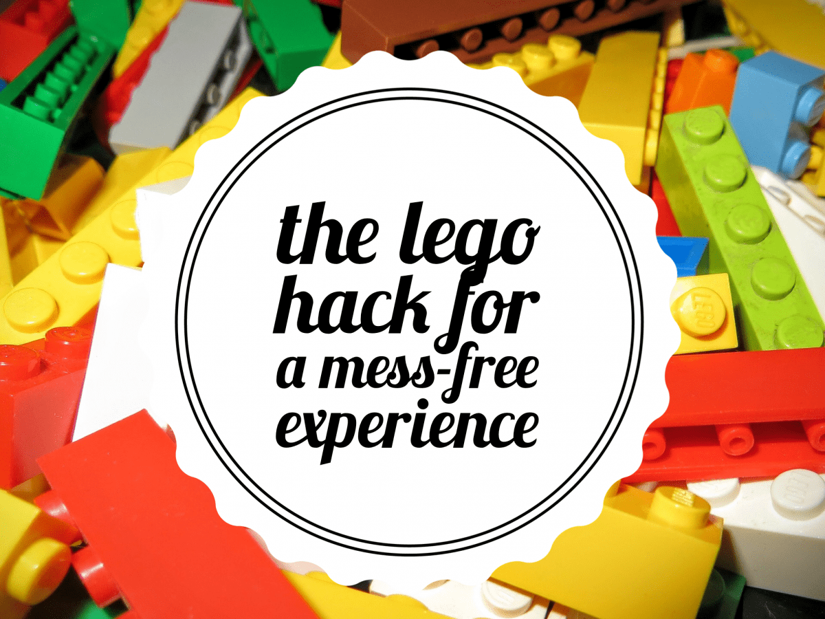 LEGO Hack for a Mess-Free Building Experience