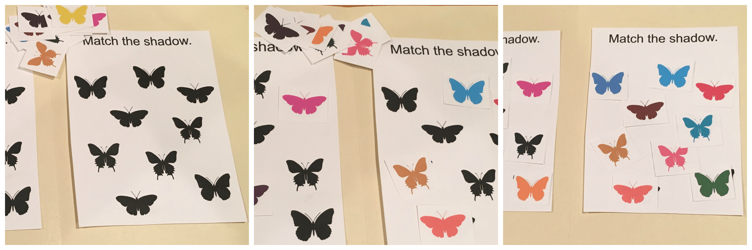 These printable butterfly file folder games are fantastic for keeping the kids busy and engaged while learning! Download the printable and simple cut and paste to a file folder!