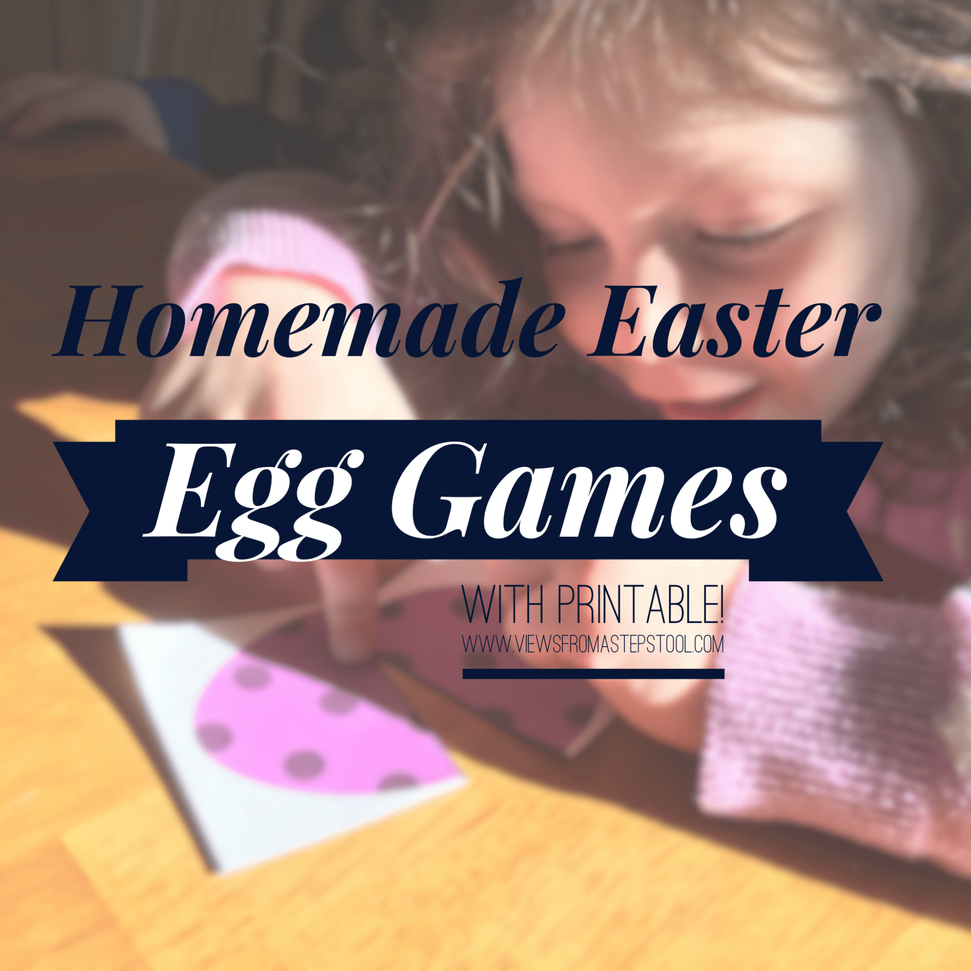 Printable Easter Egg Game for Toddlers and Preschoolers