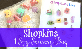 Shopkins I Spy Bag: Sensory & Fine Motor