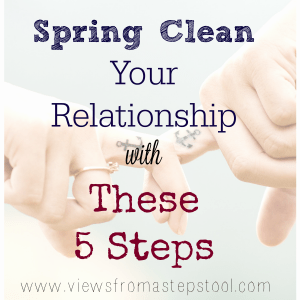 spring clean your relationship square