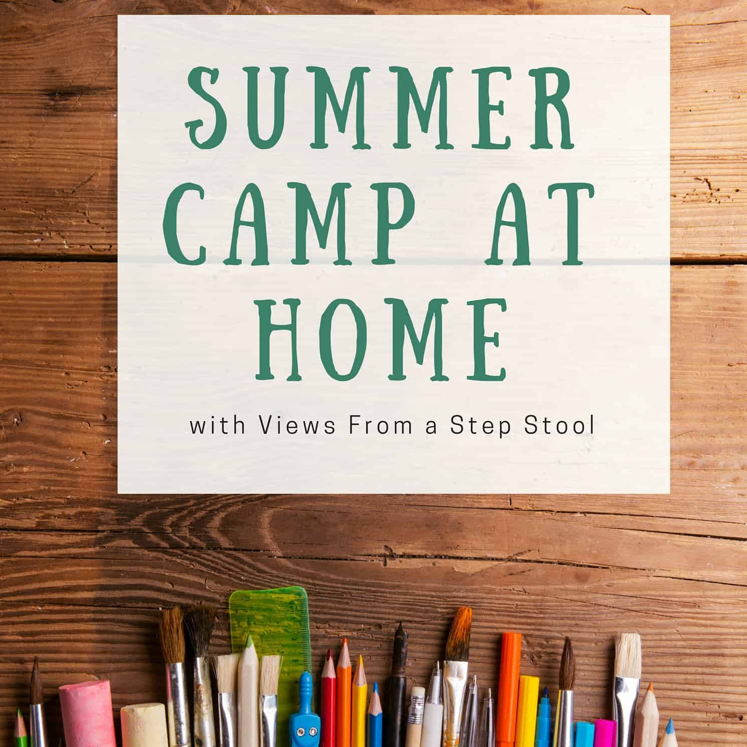 Summer Camp at Home!! Join in TONS of Fun!