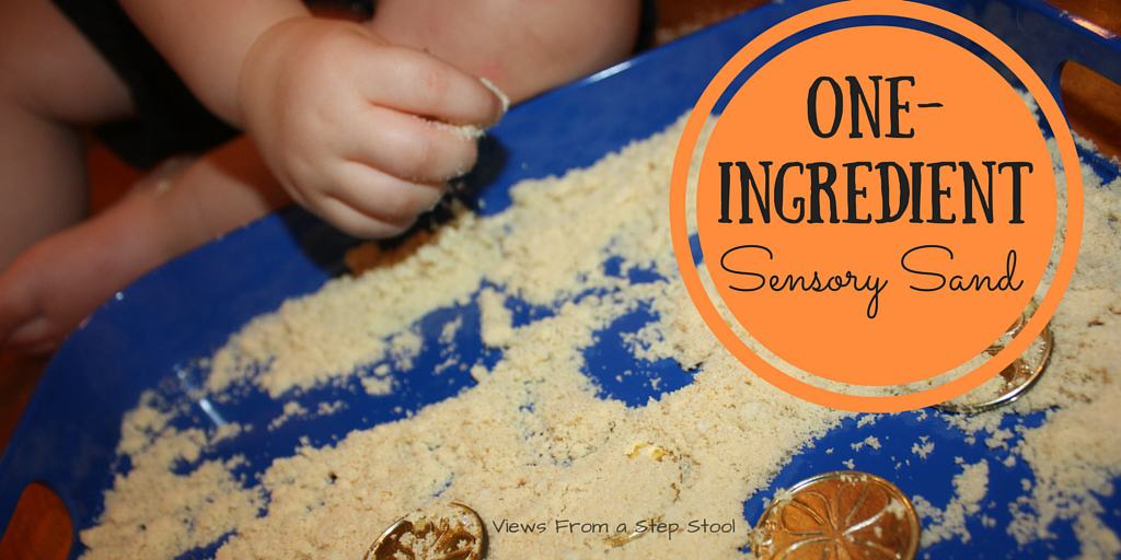 One-Ingredient Sensory Sand!