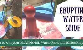 Erupting Water Slide! Backyard, Summer STEM