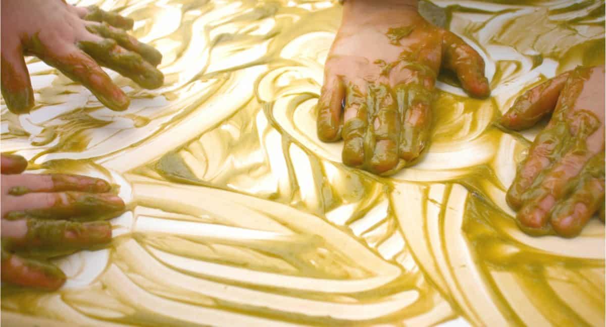 Homemade Finger Paint Recipe: Gentle on the Skin