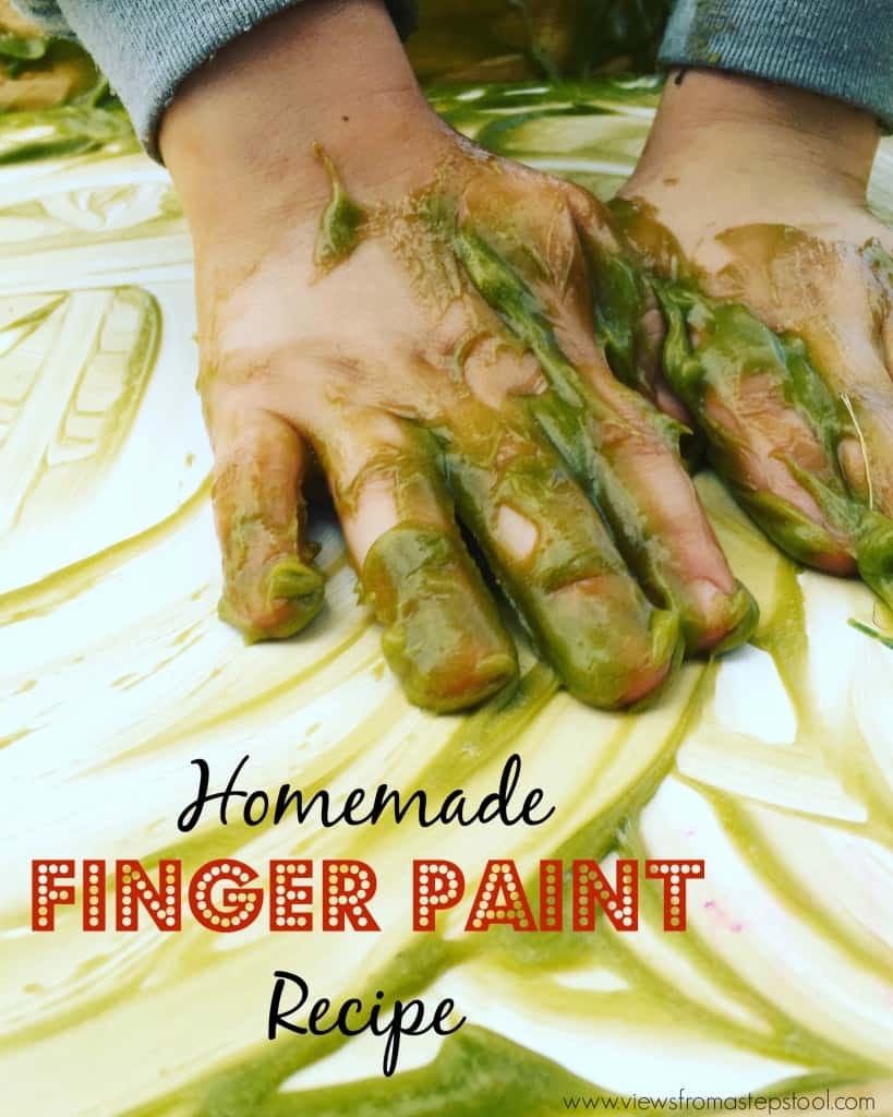Make this homemade finger paint and use it as some fun ghostbusters themed art! The perfect combination of sensory and art, this paint is east to make at home and gentle on the skin!