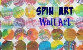 Spin Art Wall Art for Kids