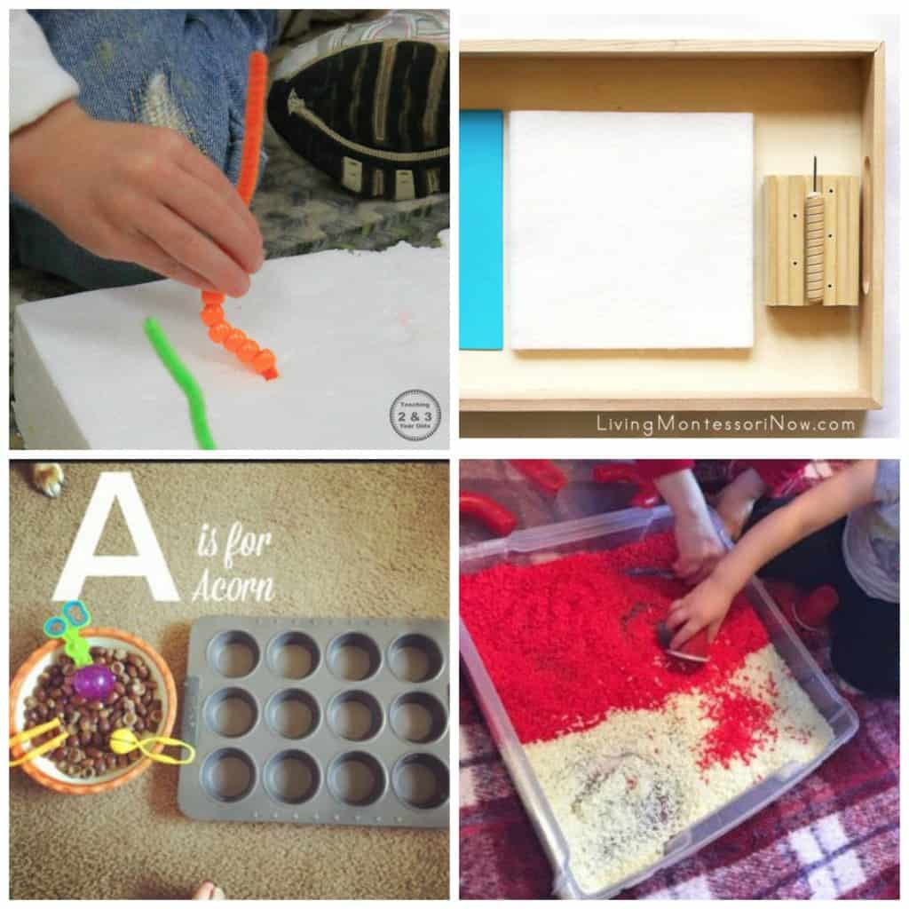 Fine motor activities are a perfect way to improve pincer grasp and work on pre-handwriting skills! Check out this awesome collections of fine motor activities for babies through elementary aged children!