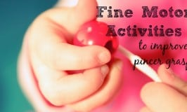 34 Fine Motor Activities to Improve Pincer Grasp
