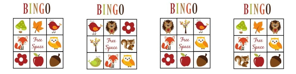 These printable fall games for toddlers will keep your little ones busy (and learning) all while having fun! Grow their vocabulary and enjoy some quality time together. Included are a matching game, Fall Bingo, and Fall I-Spy!