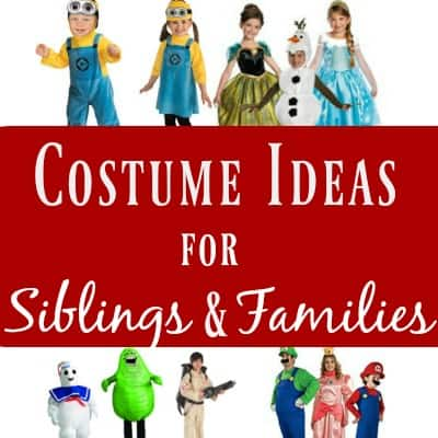 Costume Ideas for Siblings and Families