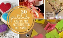 20 Gratitude Crafts and Activities to Do with the Family
