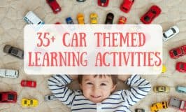 35+ Car Themed Learning Activities for Kids