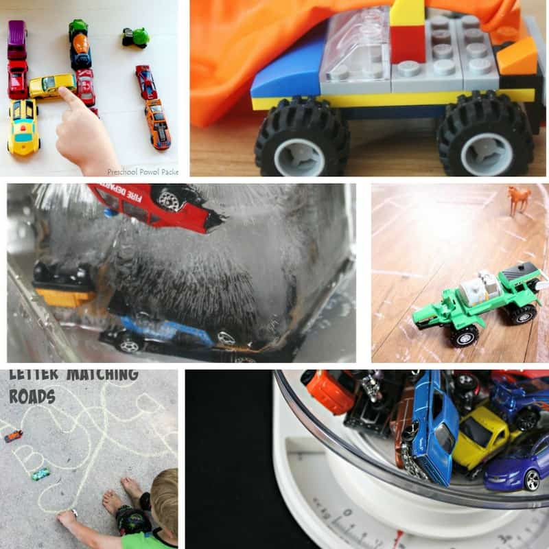 35 Car Themed Learning Activities For Kids Views From A
