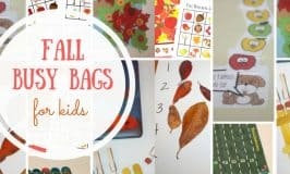 6 Fall Busy Bags to Keep the Kids Occupied