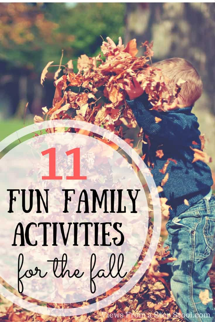 There are so many ways to get out as a family this fall! Check out this ultimate list of fun family activities that you MUST do this fall!