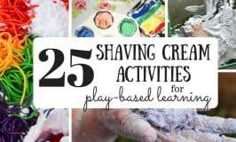 25 Shaving Cream Simple Setups for Play-Based Learning