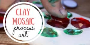 Clay Mosaic Process Art for Kids