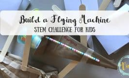 Build a Flying Machine STEM Challenge for Kids