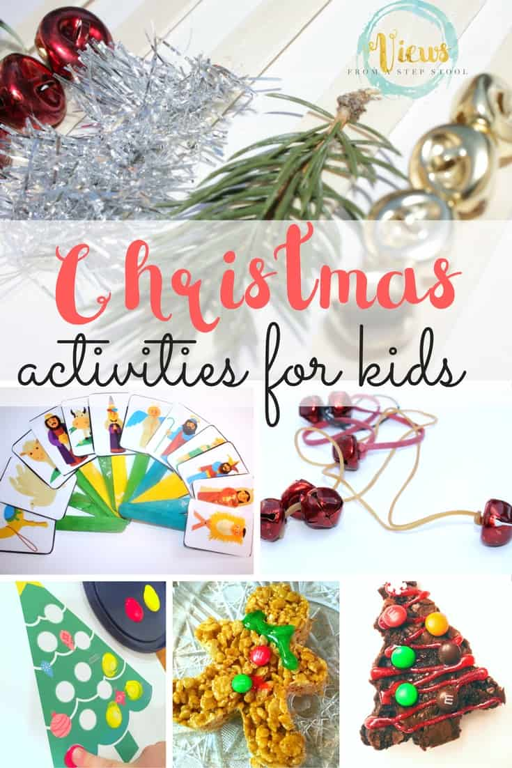Christmas Activities for Kids - Views From a Step Stool