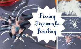 Fizzing Fireworks Painting: A STEAM Activity for Kids