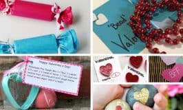 40 Non-Food Valentines for Favors and Gifts