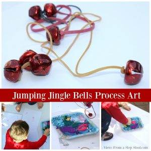 jumping-jingle-bells-process-art-collage