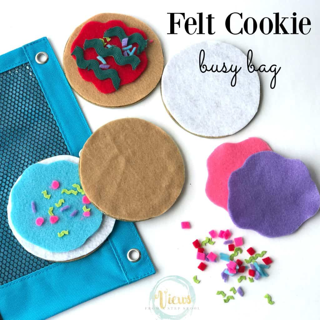 felt cookie busy bag square f9