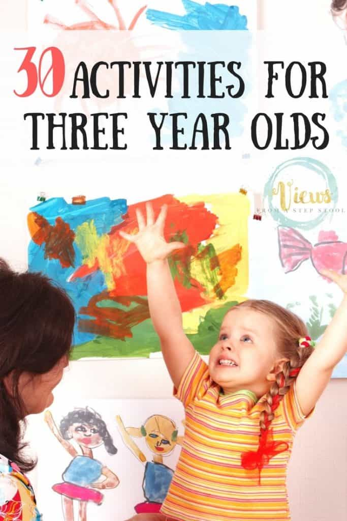 30 activities for 3 year olds pin