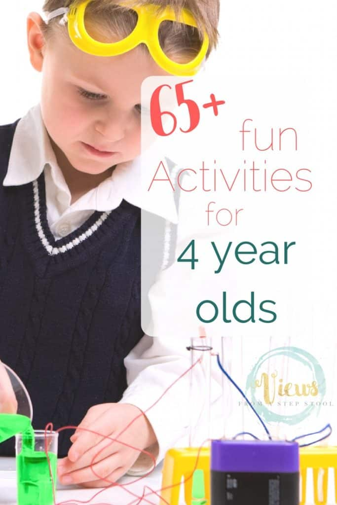 65+ Activities for 4 year olds