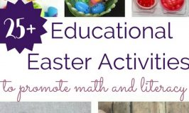 Educational Easter Activities to Promote Math and Literacy